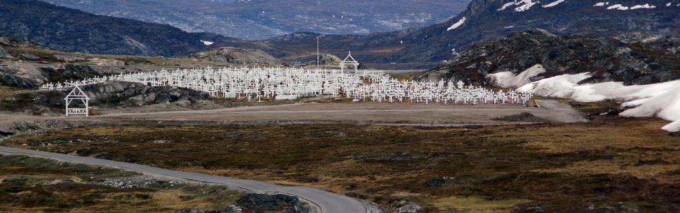 Den nye kirkegård ved Ilulissat