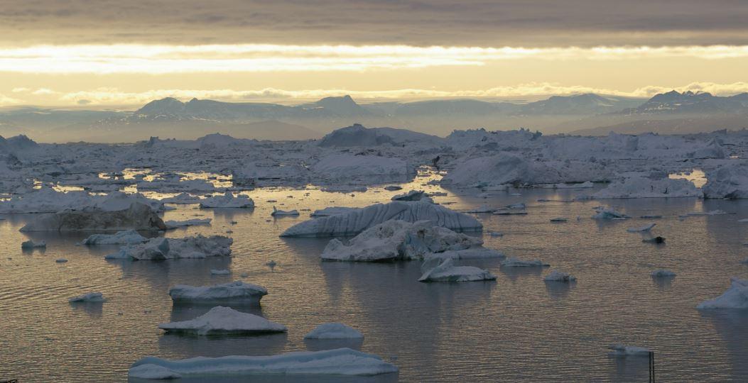 Midnatssol i Ilulissat